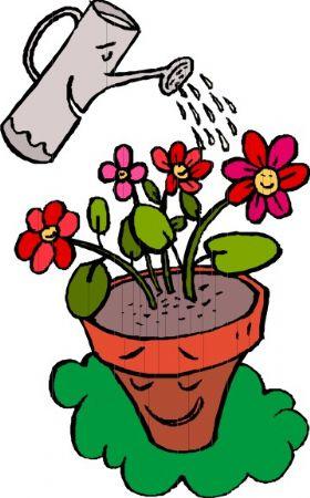 盆栽生长卡通卡通图片